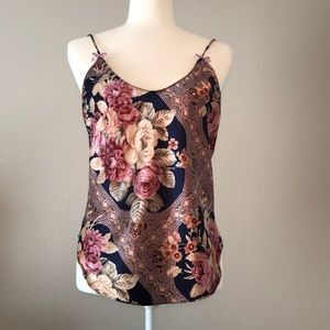 Tops - Faux silk women's top size medium